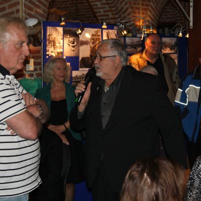 Hato voorzitter Piet Aberkrom en Penningmeester Marten Wijbenga