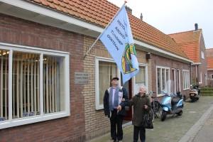 nieuwe vlag HATO Steenbokstraat