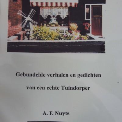 Gebundelde verhalen en gedichten van een echte Tuindorper: A.F.Nuyts, €5.00