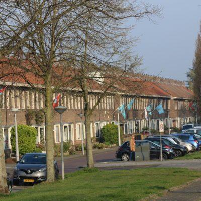 Vlaggen in het dorp
